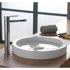 Scarabeo by Nameeks Bucket Ceramic Built-In Vessel Bathroom Sink