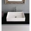 Scarabeo by Nameeks Teorema Rectangular Vessel Bathroom Sink