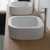 Scarabeo by Nameeks Next Square Vessel Bathroom Sink