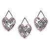 Sweet Jojo Designs Sophia Wall Hanging (Set of 3)