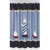 Sweet Jojo Designs Come Sail Away Cotton Shower Curtain
