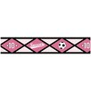 "Sweet Jojo Designs Soccer Pink 15' x 6"" Geometric Border Wallpaper"