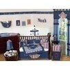 Sweet Jojo Designs Nautical Nights 9 Piece Crib Bedding Set