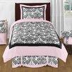 Sweet Jojo Designs Sophia 4 Piece Twin Comforter Set