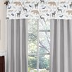 Sweet Jojo Designs Woodland Animals Window Curtain Valance