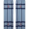 Sweet Jojo Designs Nautical Nights Curtain Panels (Set of 2)