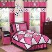 Sweet Jojo Designs Soccer Pink Comforter Set