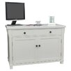 Baumhaus Hampton Armoire Desk with Cable Management