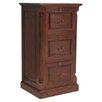 Baumhaus La Roque 3-Drawer Vertical Filing Cabinet