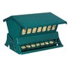 Green Absolute II Hopper Bird Feeder - H-F Bird Feeders