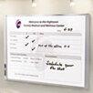 Quartet® Inview Calendars Wall Mounted Bulletin Board, 3' H x 4' W