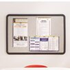 Quartet® Contour Tack Wall Mounted Bulletin Board