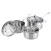 Sabichi Aspire 3-Piece Stainless Steel Saucepan Set