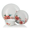 Sabichi Blossom 12 Piece Dinnerware Set (Set of 4)