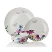 Sabichi Lydia 12 Piece Dinnerware Set (Set of 4)