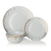 Sabichi Gatsby 12 Piece Dinnerware Set (Set of 4)