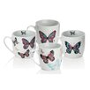 Sabichi Mariposa 4 Piece Mug Set