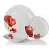 Sabichi Poppy 12 Piece Dinnerware Set (Set of 4)