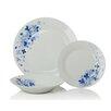 Sabichi Anabella Hydrangea 12 Piece Dinnerware Set (Set of 4)