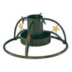Heibi Steel Christmas Tree Stand in Dark Green