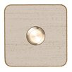Heibi Tippo Doorbell Coated in White and Gold