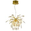 Golden Lighting Palm Chandelier