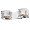 Golden Lighting Clara 2 Light Bath Vanity Light