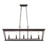 Golden Lighting Davenport 5 Light Kitchen Island Pendant