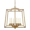 Golden Lighting Athena 6 Light Chandelier