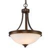 Golden Lighting Hidalgo 3 Light Bowl Inverted Pendant