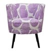 angelo:HOME Lily Geometric Barrel Chair