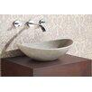 Avanity Oval Stone Vessel Bathroom Sink