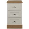 Sweet Dreams Amore 3 Drawer Bedside Table