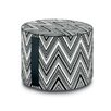 Missoni Home Kew Outdoor Cylindrical Pouf Ottoman