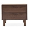 Calligaris Boston 2 Drawer Nightstand