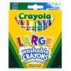 Crayola LLC Washable Crayons Large 8ct (Set of 3)
