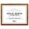 """DAX® Two-Tone Document/Diploma Wood Frame, 8.5"""" x 11"""""""