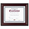 DAX® Rosewood Document Wood Frame, Wall-Mount
