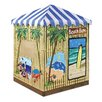 Badger Basket Beach Bum Cabana 3 ft. Square Sandbox with Cover