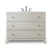 "Cole + Company Designer Series 43"" Penelope Hall Chest Vanity Base"