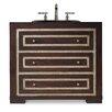 "Cole + Company Designer Series 36"" Mahoney Sink Chest Vanity Base"