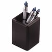 Rolodex Corporation Wood Tones Pencil Cup, Black