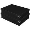 Samsill Corporation Pop N' Store Document Box (Set of 2)