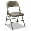 Cosco Bridgeport 60-810 Series All Steel Folding Chairs, 4/Carton