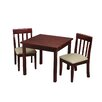 Gift Mark Children's 3 Piece Square Table and Chair Set