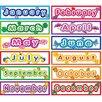 Teacher Created Resources Polka Dot Months Headliners Calendar