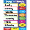 Trend Enterprises Learning Days of The Week Chart (Set of 3)