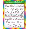 Trend Enterprises Cursive Alphabet Zanerbloser Chart (Set of 3)