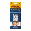 VELCRO USA Inc Oval Hook and Loop Fasteners, 7 1/4 X 3, 40/Pack (Set of 2)