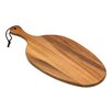 Lipper International Acacia Oblong Shape Paddle Board